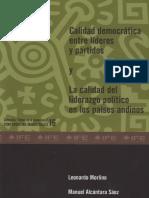 Calidad Democratica Morlino 1