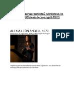 Alexia León