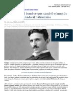Articulo Nikola Tesla