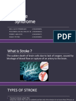 Post Stroke Syndrome
