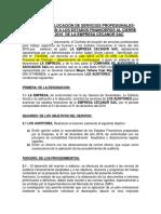 Contrato de Locación de Servicios Profesionale1