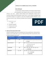 Materi Pokok Bilangan Berpangkat Bulat Positif