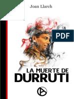 Llarch, Joan - La Muerte de Durruti