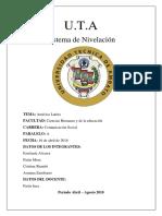 Informe America Latina