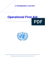Operational First Aid