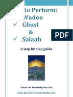 How to Perform Wudu Ghusl Salaah A5