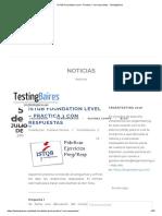 ISTQB Foundation Level - Práctica 1 Con Respuestas - TestingBaires