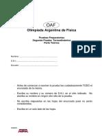 2da Prueba Preparatoria 2014