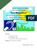 Proyecto Aro EETP474