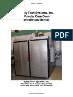 Powdercoat Oven