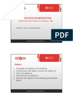 OBJETIVOS+MARKETING
