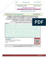 FORMULATION DEVELOPMENT OF CR OFLAXACIN MATRIX TABLET AND THEIR IN-VITRO EVALUATION