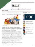 Municipios en donde más aumentó el valor de la vivienda SCJM