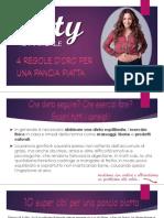 Pancia Piatta - 4 Regole d'Oro