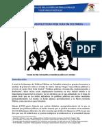 Políticas Públicas en Colombia Unidad 4