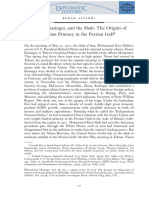 ALVANI, Nixon, Kissiger and the Shah, Origins of the Iranina Primacy in the PC