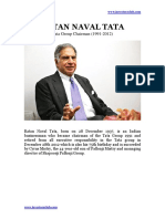 Ratan Tata Biography PDF