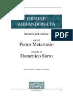 Metastasio Pietro DidoneAbbandonata