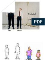 Comparatives for Beginners