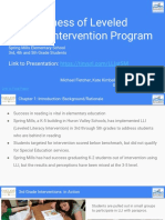 lli intervention - symposium slide deck - may 5th 2018 - fletcher kimball mitchell  1