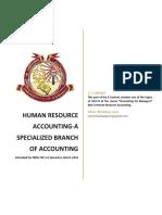 -Human Resource Accounting(1)