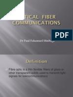 Optic Fiber Communications