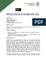3. Metodos Clasicos Identificacion Viral
