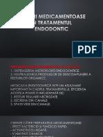Remedii Medicamentoase În Tratamentul Endodontic