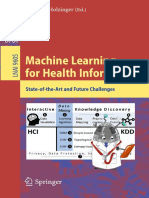Andreas Holzinger - Machine Learning for Health Informatics