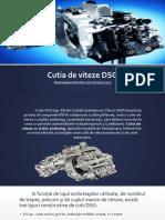 Cutia de Viteze DSG