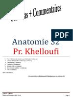 Anatomie S2 Prof Khelloufi