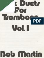 Jazz Duets for Trombone