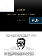 masculinity powerpoint