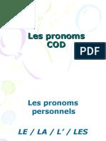 Les Pronoms COD