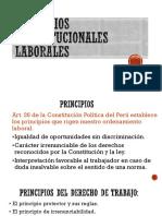 Principios Constitucionales Laborales
