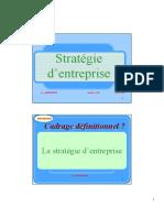 Stratégie Management CCA 2017 2018
