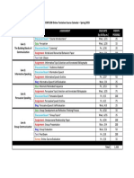 coms 108 online tentative course calendar