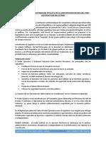 Breve Analisis y Comentario Del Titulo IV de La Constitucion Politica Del Peru