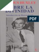 Sobre la divinidad - Aldous Huxley.pdf