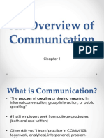 chapter 1 ppt an overview of communication