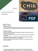 Diapos Chia Objetivos OFERTA DEMANDA TABLAS Graficos Conclusiones Recomendaciones