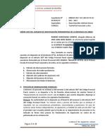 Control de Acusaciòn Leon Huaco- Usurpacion