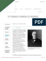 Ley Foraker o Primera Ley Orgánica - Gobierno | EnciclopediaPR.pdf