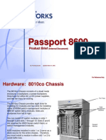 Passport 8600 Product Brief