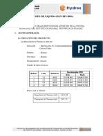 07. Resumen de Liquidacion de Obra