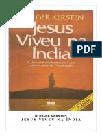 Holger Kersten - Jesus Viveu Na Índia