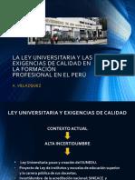 Exposicion Ley Universitaria