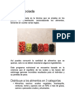 Dieta Disociada PDF