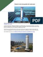 Purificador de Aire Más Grande Del Mundo Para Combatir El Smog