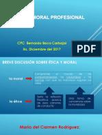Exposicion Etica y Moral Cpc